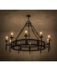 Toscano 10 LT Chandelier by