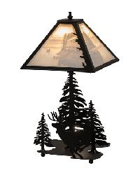 A Day on the Lake Lithophane Accent Lamp by