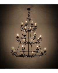 Estrella 24 LT Three Tier Chandelier by