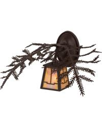 Pine Branch Valley View Wall Sconce by