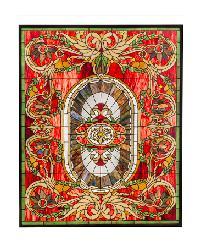 Regal Splendor Stained Glass Window by