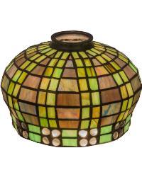 Jeweled Basket Shade by