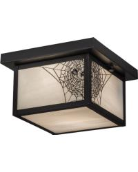 Hyde Park Spider Web Flushmount by