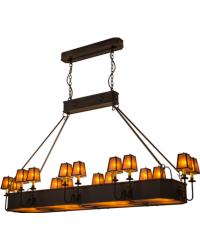 Carpathian 16 LT Oblong Chandelier by
