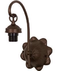 Mahogany Bronze 1 LT Wall Sconce Hardware by