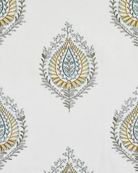 Maxwell Fabrics Bequest 101 Turquoise Fabric