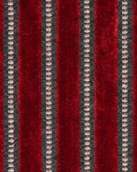 Maxwell Fabrics ROCKEFELLER 305 LAVA Fabric