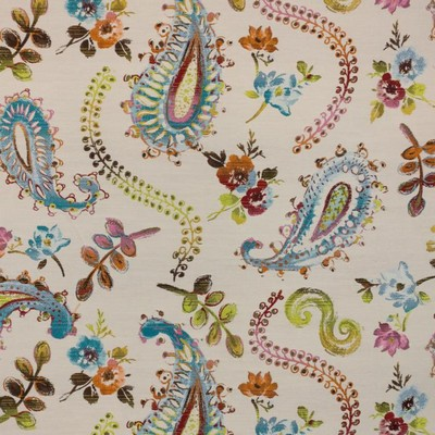 RM Coco Watercolor Paisley Sea Coral Inspired Living Vol 14