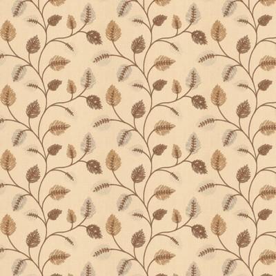 Fabricut Fabrics BETTING LEAVES MOCHA Fabricut Fabrics