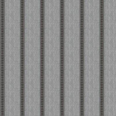 Fabricut Fabrics PIER STRIPE HEMATITE Fabricut Fabrics