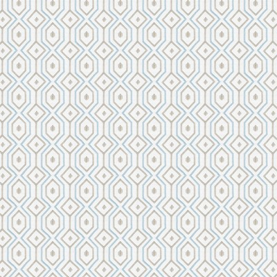 Fabricut Fabrics CATTY CORNER AQUAMARINE Fabricut Fabrics