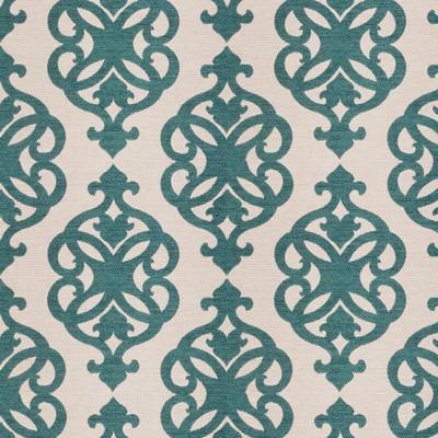Fabricut Fabrics PORTRAIT PEACOCK Fabricut Fabrics