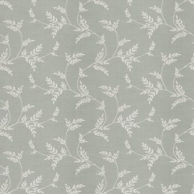 Fabricut Fabrics SIMILE LEAVES MINERAL Fabricut Fabrics