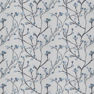 Fabricut Fabrics TANKA BUDS BLUEBIRD Fabricut Fabrics