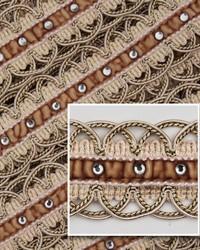 Novel Scallop Cream Fabric