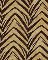 Novel Zebra Golden Fabric