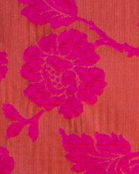 Novel Fiorella Cranberry Fabric