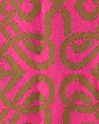 Novel Zari Chocolatehot Pink Fabric