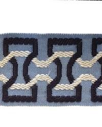 Novel Stephan Navy blue Fabric