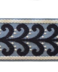 Novel Tanner Navy blue Fabric