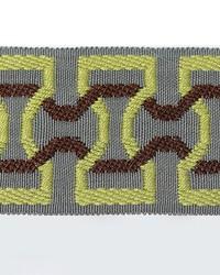 Novel Stephan Mint  Gunmetal Fabric
