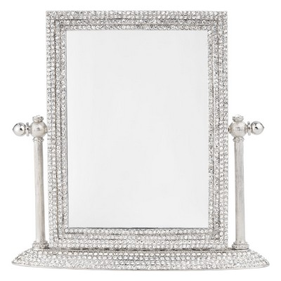 Olivia Riegel Crystal Pav� Magnified Standing Mirror  Search Results