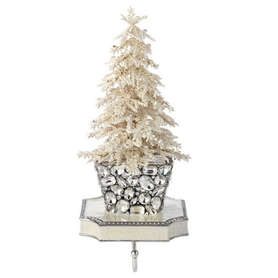 Olivia Riegel Flocked Crystal Tree Stocking Holder  Search Results