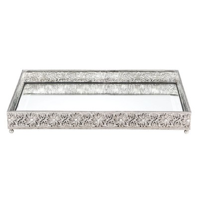 Olivia Riegel Large Windsor Beveled Mirror Tray  Search Results