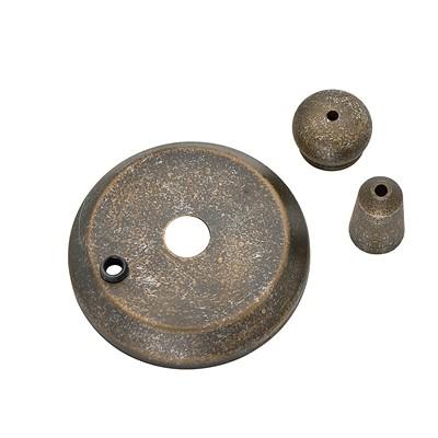 Hunter Fan Co Cap and Finial Aged Bronze Hunter Fan Parts