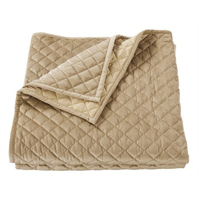 HomeMax Imports Velvet Quilt, King Oatmeal Oatmeal Search Results