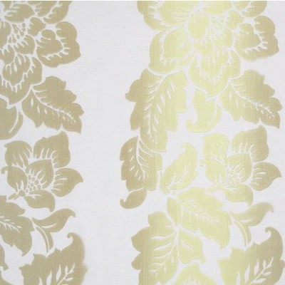 Clarke and Clarke TRANQUILITY F0216 LIME Lino Sheers