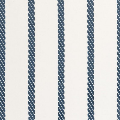 Clarke and Clarke Rope Stripe 1 BLUE Search Results
