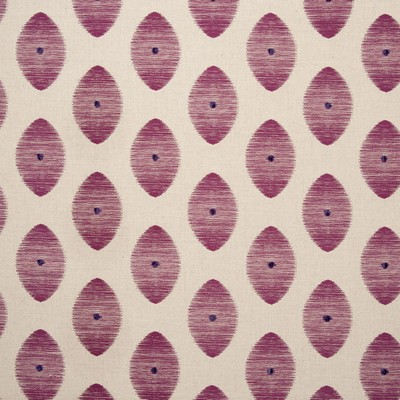 Clarke and Clarke KINDU F0719 BERRY Clarke and Clarke Fabrics