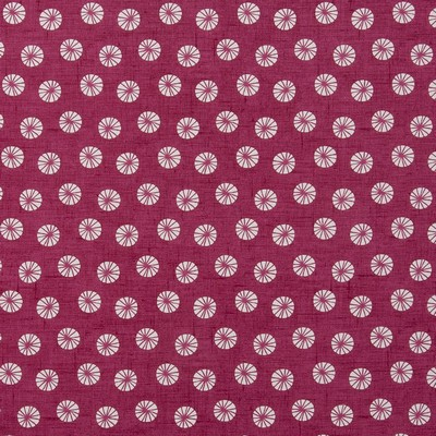 Clarke and Clarke DAIQUIRI F0745 RASPBERRY Clarke and Clarke Fabrics