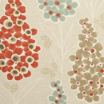 Clarke and Clarke MUSTIQUE F0747 SPICE Clarke and Clarke Fabrics