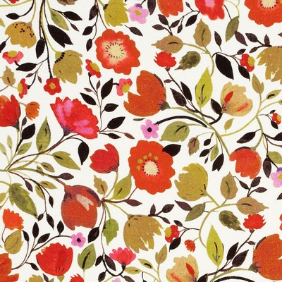 Clarke and Clarke Red Tulips Linen 1 AUTUMN Search Results