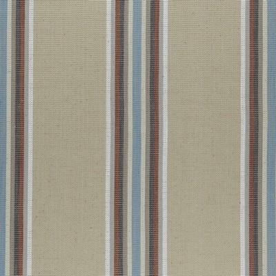 Clarke and Clarke F0955 2-CINNABAR/AQUA Clarke and Clarke Fabrics