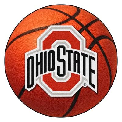 Fan Mats  LLC Ohio State Buckeyes Basketball Rug  Search Results