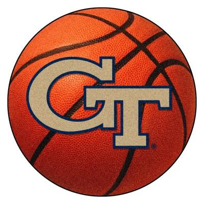 Fan Mats  LLC Georgia Tech Yellow Jackets Basketball Rug  Search Results