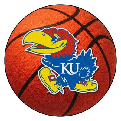 Fan Mats  LLC Kansas Jayhawks Basketball Rug  Search Results