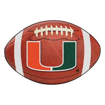 Fan Mats  LLC Miami Hurricanes Football Rug  Search Results