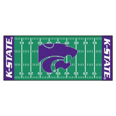 Fan Mats  LLC Kansas State Wildcats Field Runner Rug  Search Results