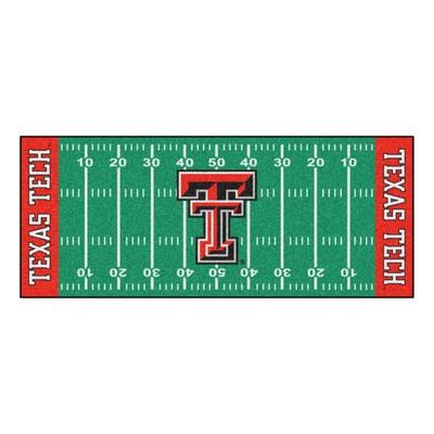 Fan Mats  LLC Texas Tech Red Raiders Field Runner Rug  Search Results