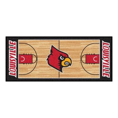 Fan Mats  LLC Louisville Cardinals Court Runner Rug  Search Results