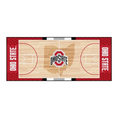 Fan Mats  LLC Ohio State Buckeyes Court Runner Rug  Search Results