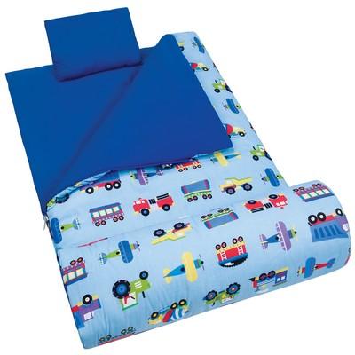 Olive Kids Olive Kids Trains, Planes & Trucks Sleeping Bag Blue Search Results