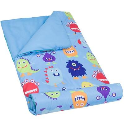 Olive Kids Olive Kids Monsters Microfiber Sleeping Bag Blue Search Results