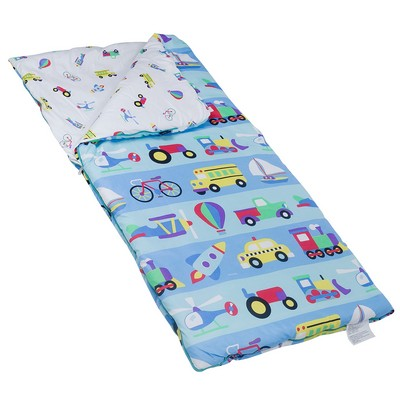 Olive Kids Olive Kids On the Go Microfiber Sleeping Bag w/ Pillow Case Blue Search Results