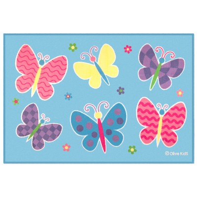 Olive Kids Olive Kids Butterfly Garden 39x58 Rug  Search Results