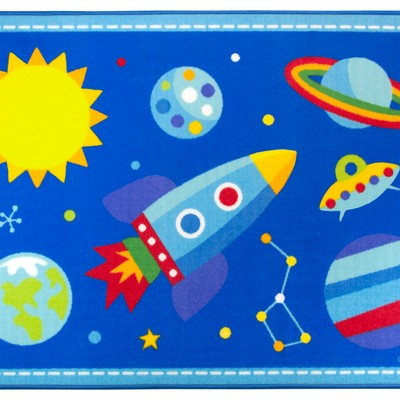 Olive Kids Olive Kids Out of this World 5x7 Rug Blue Search Results